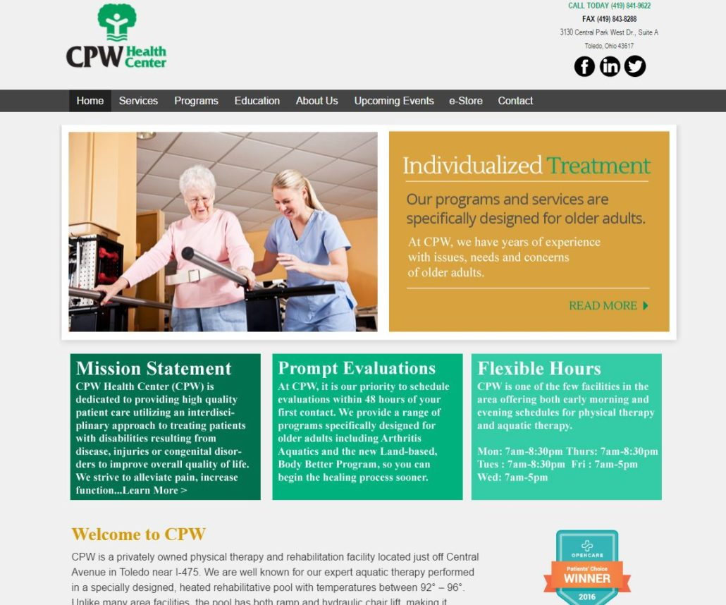 CPW Physical Therapy Clinic