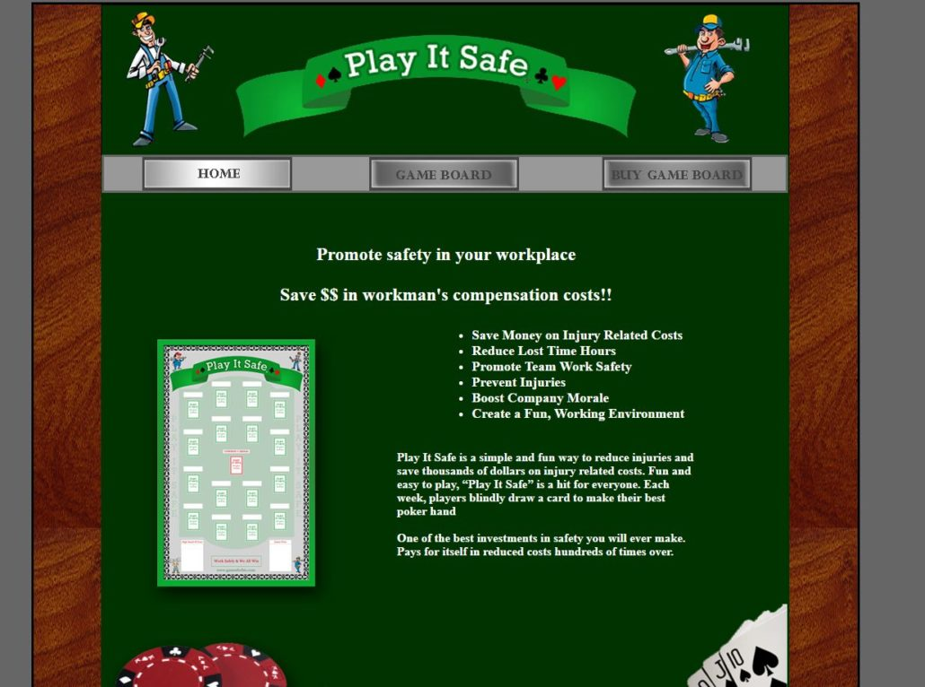 Play It Safe Workplace Safety Game