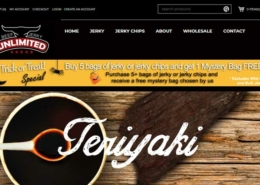 Beef Jerky Unlimited Website