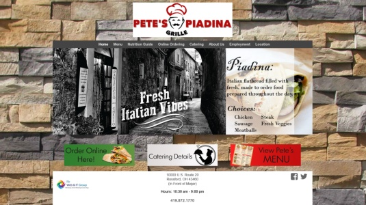 Pete\'s Piadina Grille